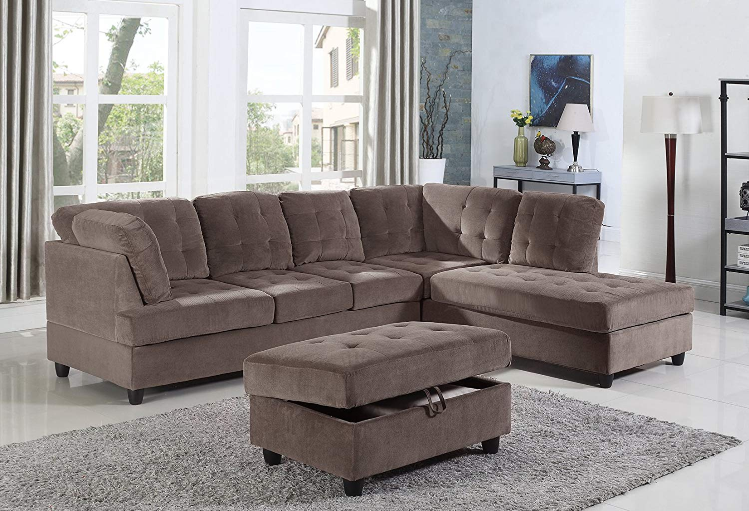 Right Facing Sectional Sofa Marvelous Interior Images Of Homes