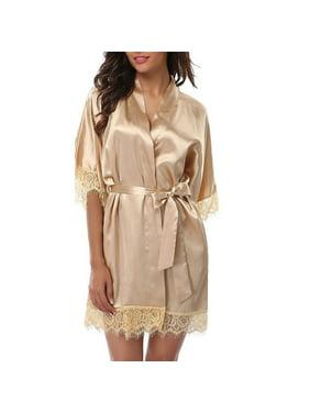 Product Image Womens Lace Nightwear Chemise Wedding Bridesmaid Gown Kimono  Sleepwear 5b40419df