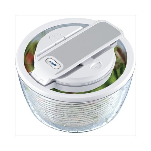 Zyliss Smart Touch Salad Spinner 2-3 servings in White