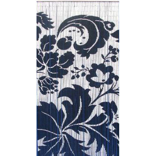 Bamboo54 Floras Single Curtain Panel