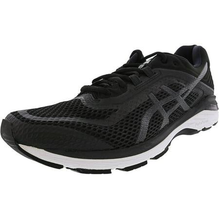 Asics Men's Gt-2000 6 Black / White Carbon Ankle-High Mesh Running Shoe -