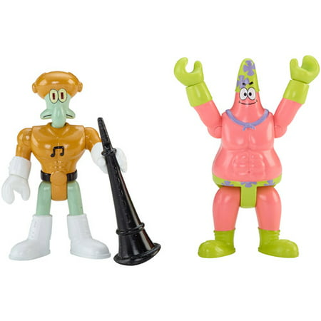 Imaginext SpongeBob Mr. Superawesomeness and Sour - Spongebob 24