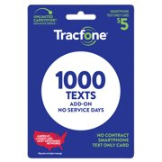 Tracfone $5 Text Only Plan e-PIN Top Up (Email Delivery)