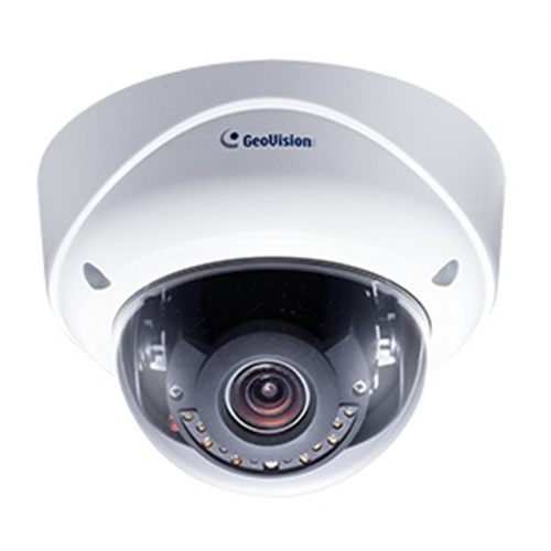 GeoVision GV-VD3700 3MP H.265 Low Lux WDR Pro IR Vandal Proof IP Dome Camera