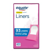 Equate Liners, Extra Long, 93 Ct