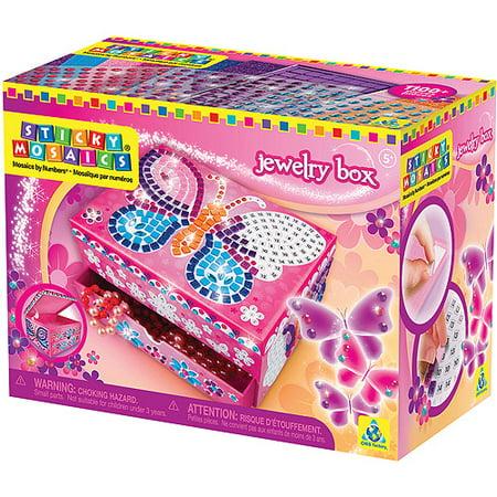 Sticky Mosaics Jewelry Box Kit
