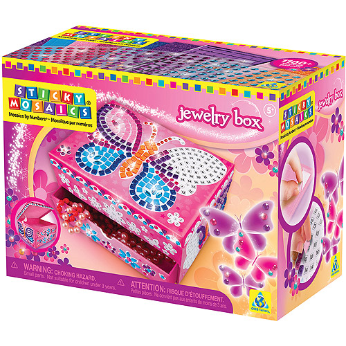 Sticky Mosaics Jewelry Box Kit