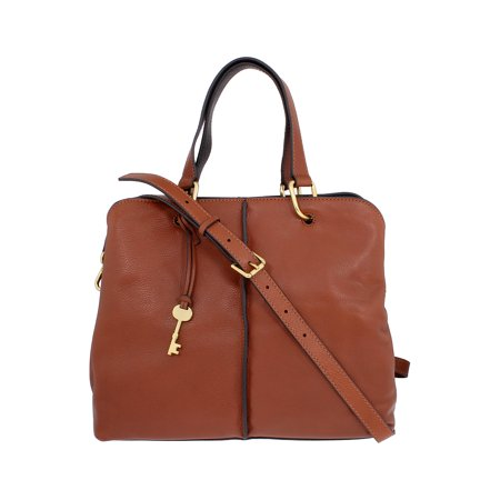 Fossil Lane Ladies Large Leather Satchel Handbag ZB7471200