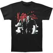 Korn Men's Band Shot 07 Tour T-shirt XX-Large Black