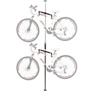 Apex Bike-Stand-5 Double Vertical Bicycle Storage Hanger Rack, Fits 2 Bikes