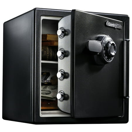 SentrySafe SFW123CS Fire-Resistant Safe and Waterproof Safe with Dial Combination 1.23 cu