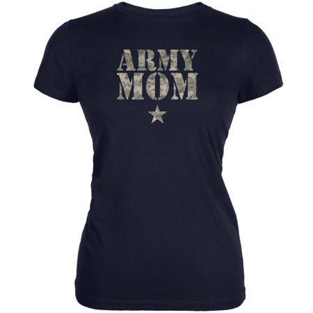 Army Mom Navy Juniors Soft T-Shirt