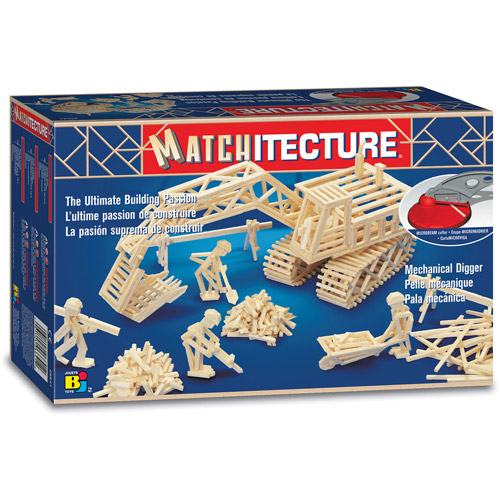 Matchitecture Mechanical Digger Building Kit