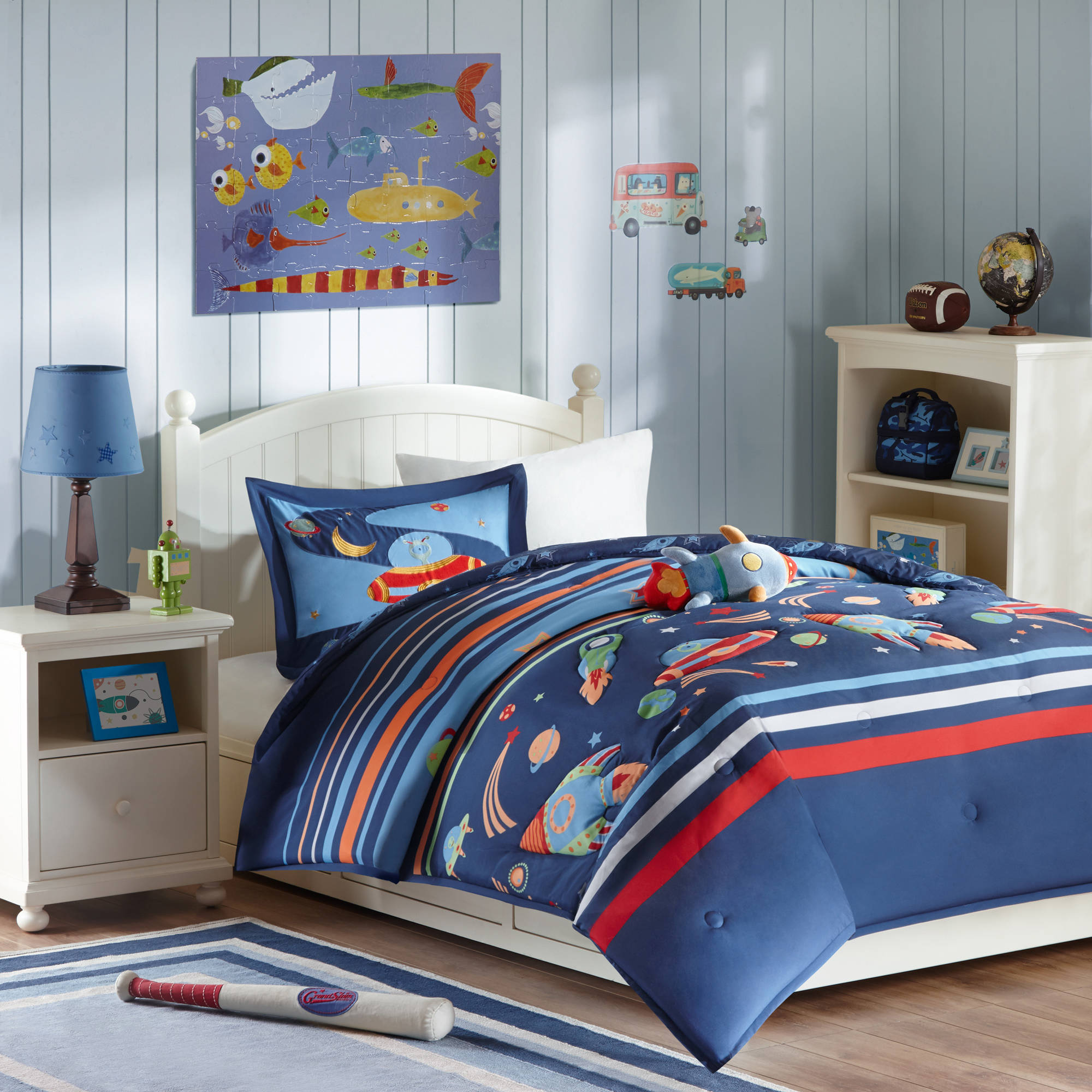 Home Essence Kids Space Scout Comforter Bedding Set