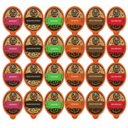 Crazy Cups Flavored Coffee, for the Keurig K Cups 2.0 Brewer, Dessert Lover's Variety Pack, 24 Count