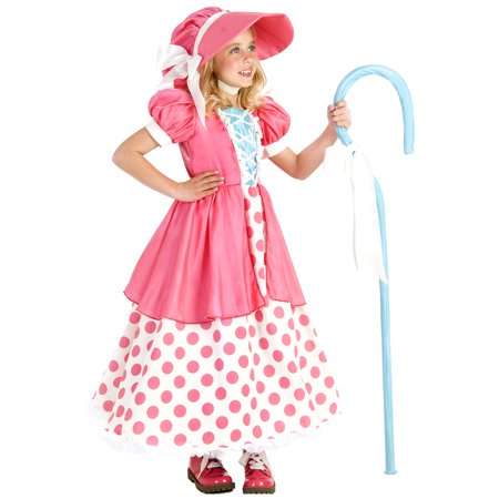 Princess Paradise Premium Polka Dot Bo Peep Child Costume - Little Bo Peep Makeup
