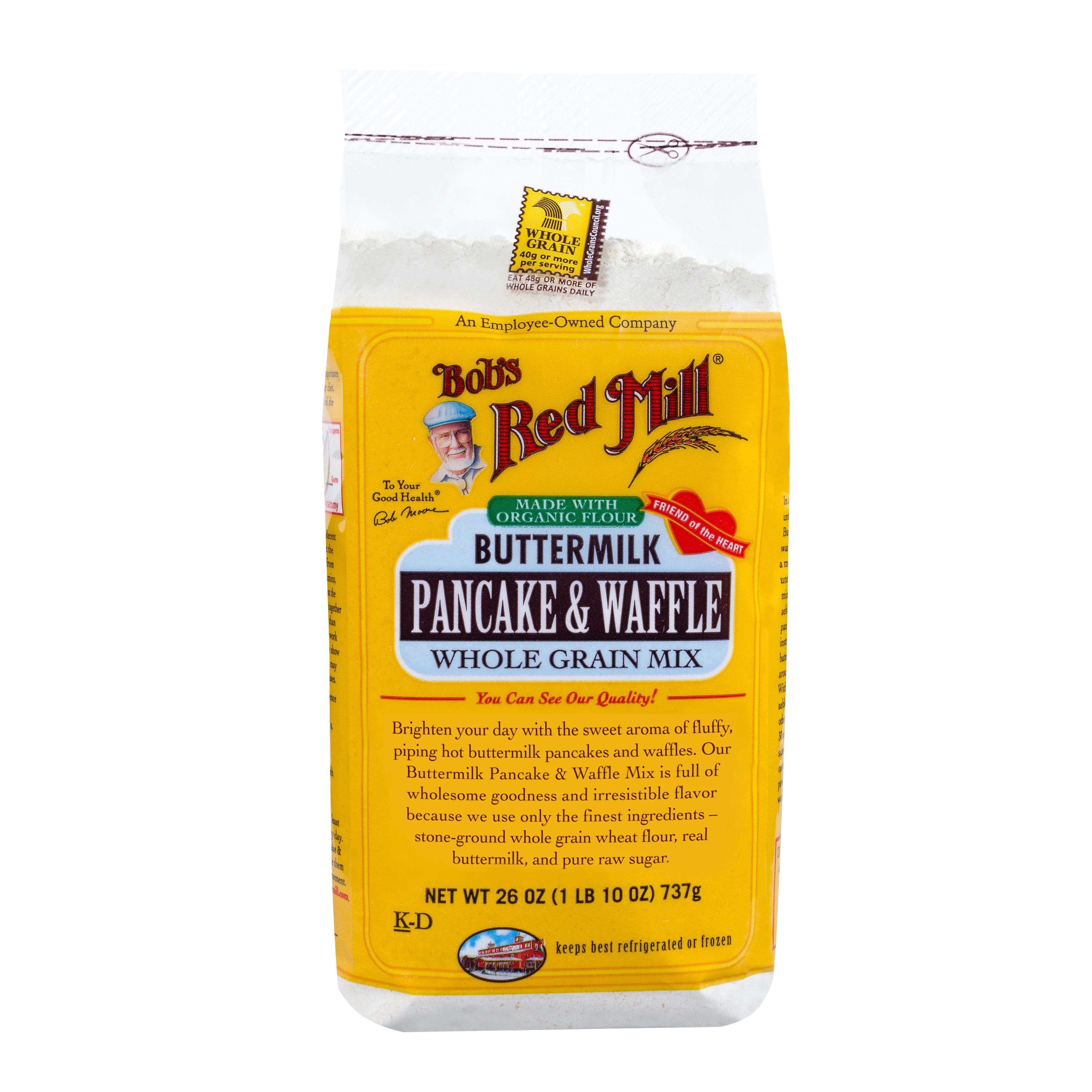 Bobs Red Mill Buttermilk Pancake Mix, 26 Oz