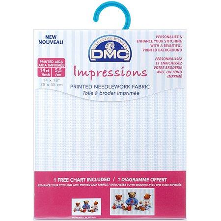 DMC Impressions Aida Needlework Fabric, 14