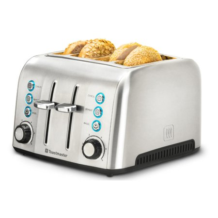 Toastmaster 4-Slice Stainless Steel Toaster