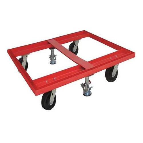 48J088 Pallet Dolly, 48x40, With Floor Locks