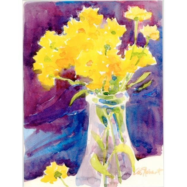 Yellow Flowers in a vase Flag - Garden Size, 11 x 15 in. - image 1 de 1