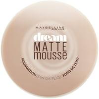 Maybelline Dream Matte Mousse Foundation, 0.64 oz.