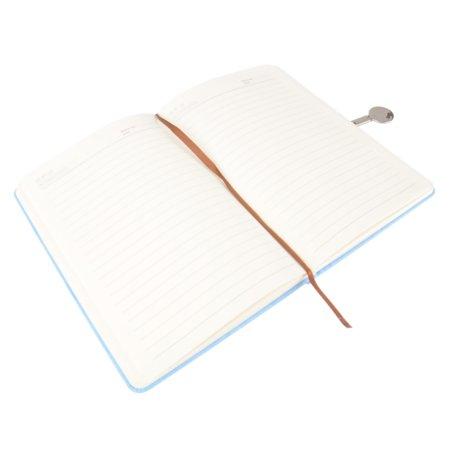 Moustache® Color PU Notebook with Magnetic Buckle, 96 Sheets, A5 , Blue - image 2 de 5