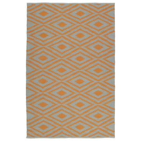 Kaleen Brisa Gray/Orange Indoor/Outdoor Area Rug