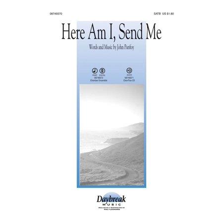 Daybreak Music Here Am I  Send Me Instrumental Pak   Special Arranged By John Purifoy