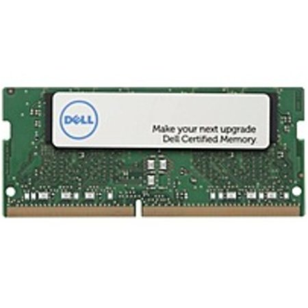 Refurbished Dell 8GB DDR4 SDRAM Memory Module - For Notebook - 8 GB - DDR4-2400/PC4-19200 DDR4 SDRAM - CL15 - 1.20 V - Non-ECC - Unbuffered - 260-pin - SoDIMM