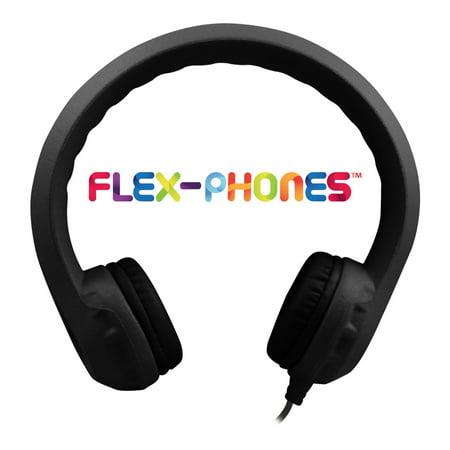 Hamilton Buhl Flex-Phones Foam Headphones Black Grades Kindergarten to 3rd (Hamilton Stereo Headphone)