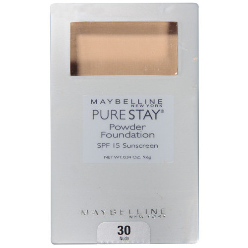 Maybelline Pure Stay Nude 30 Powder Foundation .34 Oz