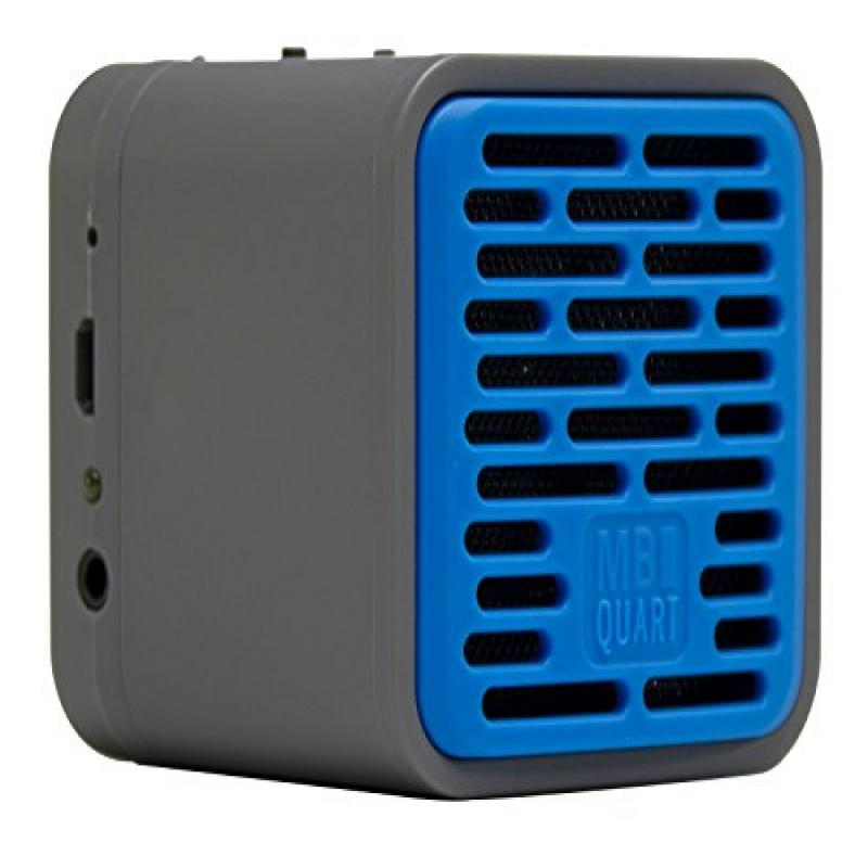 MB Quart QUB1.10201 QUBOne Portable Wireless Bluetooth Speaker with 5-Hour of Music, Blue