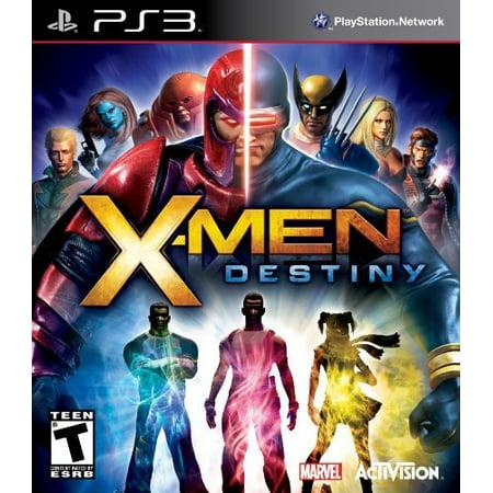 X-Men: Destiny, Activision Blizzard, PlayStation 3,
