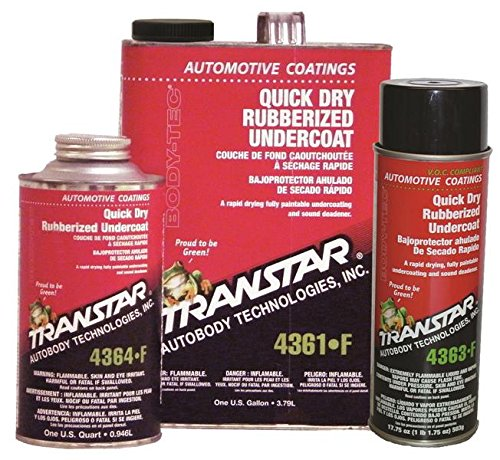 Otc TRE-4361-F Quick Dry Rubberized Undercoating, Gallon