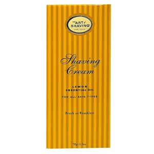 Art of shaving shaving cream, lemon, 2.5 fl oz