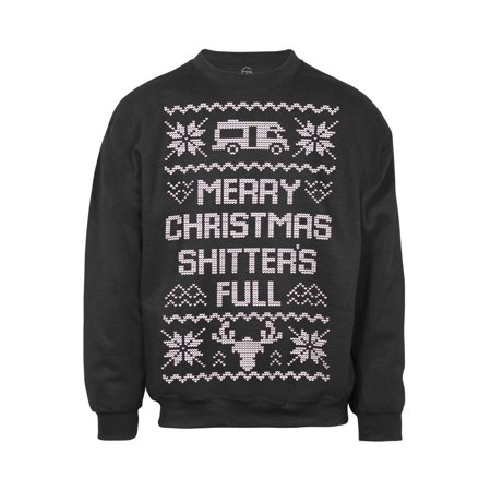 Mens Merry Christmas (S-Word) Full Ugly Sweater for $<!---->