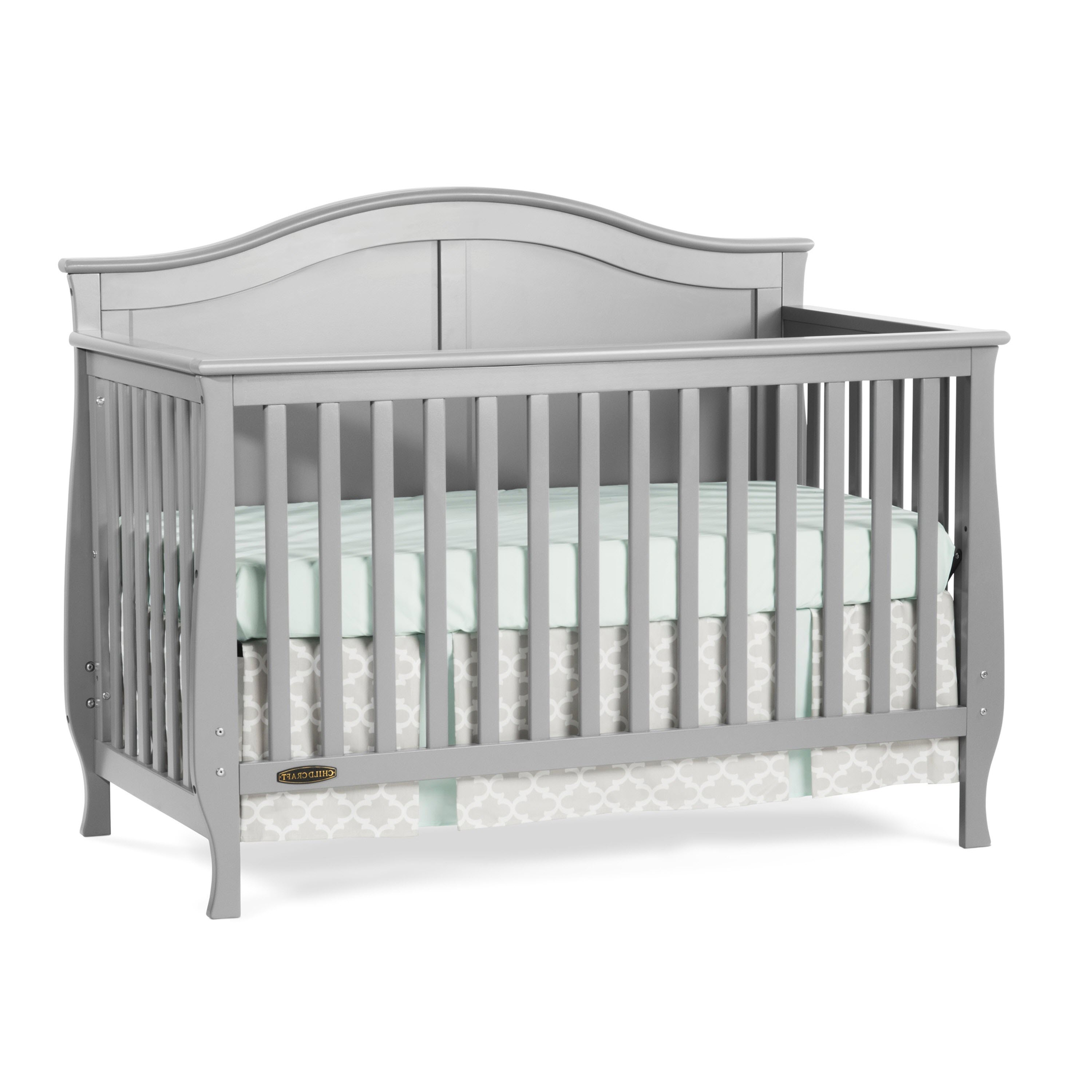 Used crib for sale edmonton - Child Craft Camden 4 In 1 Lifetime Convertible Crib Matte White
