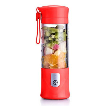 Portable Handheld Mini 420ML Electric Juicer Blender Vegetable Fruit Juice Extractor Mixerwith Leak Proof Lid with USB Cable for Gym Home Office Travel Outdoors Activities - image 9 of 9