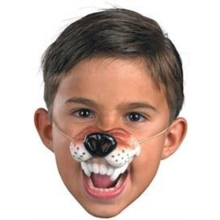 Dog Nose Mask Halloween (Disguise Inc - Wolf Nose With Elastic)