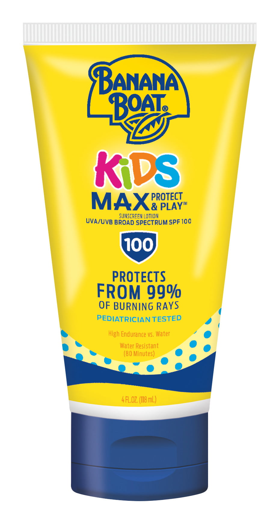 sunscreen with little girl and dog