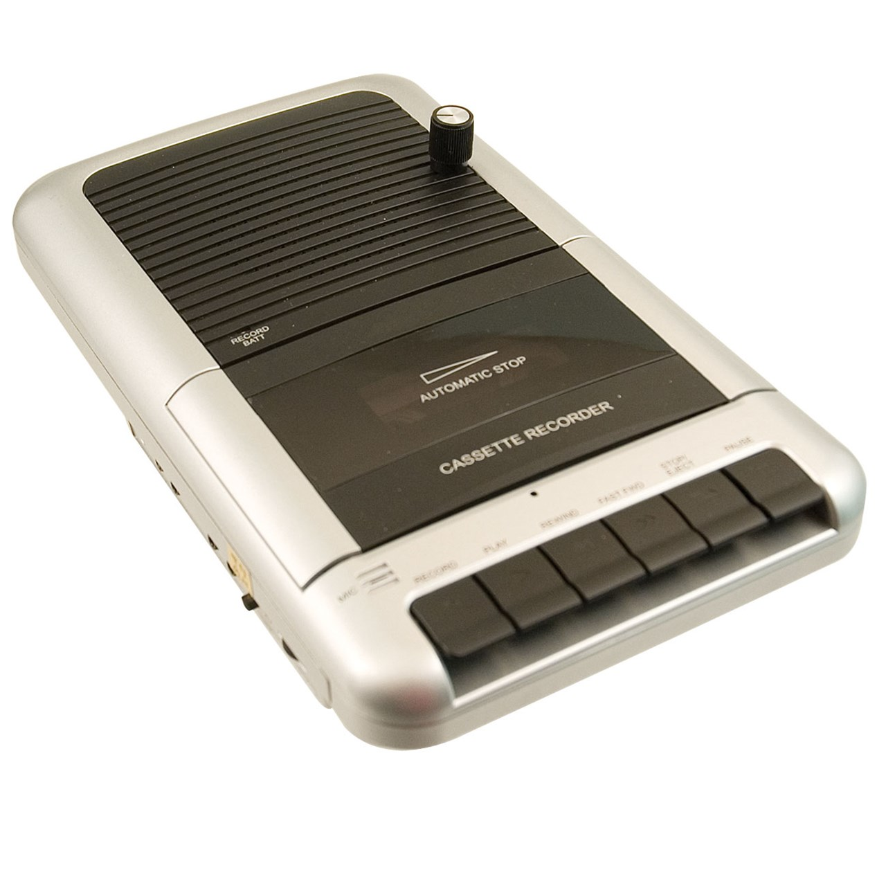 Portable Cassette Recorder-Player- Modified by Maxiaids