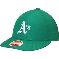 Oakland Athletics New Era Cooperstown Collection Vintage Fit 59FIFTY Fitted Hat - Green