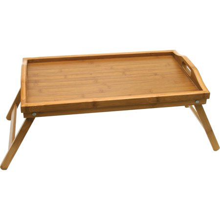 Bed Trays With Legs (Lipper International Bamboo Bed Tray with Folding Legs )