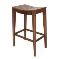 Elmo Wooden Bar Stool, Amber by NPD
