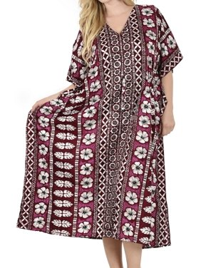 Night gown SOFT Likre Dress Lounge wear Caftan Beach Poncho Women Cover up Plus