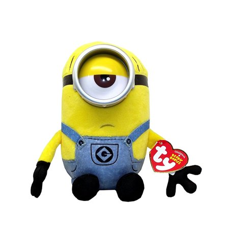 Ty Despicable Me3 Mel the Minion Plush, 7 X 3.5 inches (Minion Plush Toy)