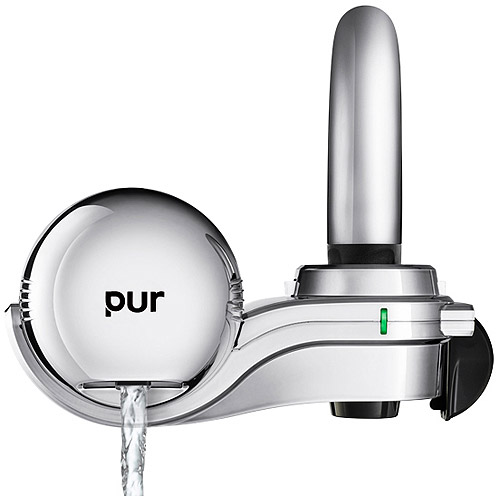 Pur Three Stage Horizontal Faucet Mount Filter