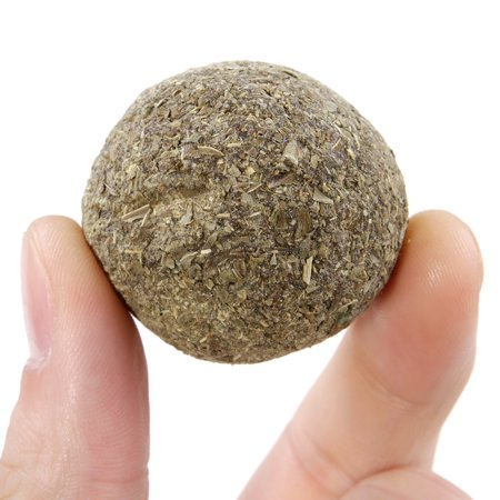 Catnip Ball Toy Cat Mint Ball Natural Catnip Cleaning Playing Chew Claw Toy Pet Supplies - image 5 of 7