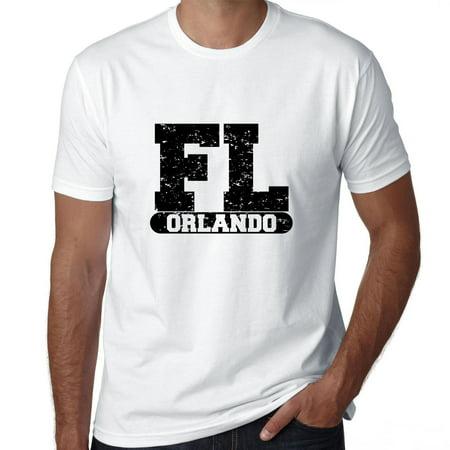 Orlando, Florida FL Classic City State Sign Men's - Halloween Store Orlando Florida